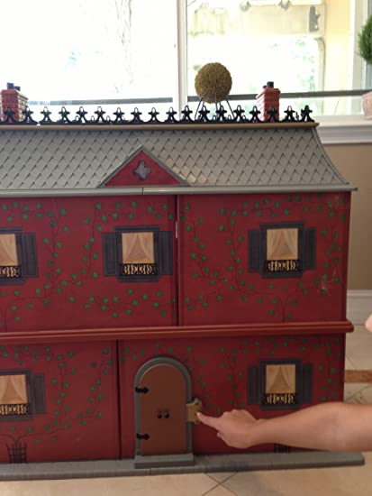 Marvelous Madeline 8 Inch Doll House   Retired Old House In Paris