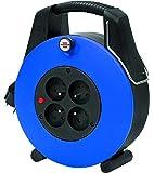 Brennenstuhl 1102931 Confort-Line CL-XL Enrouleur électrique 20 m H05VV-F 3G1,0 Bleu