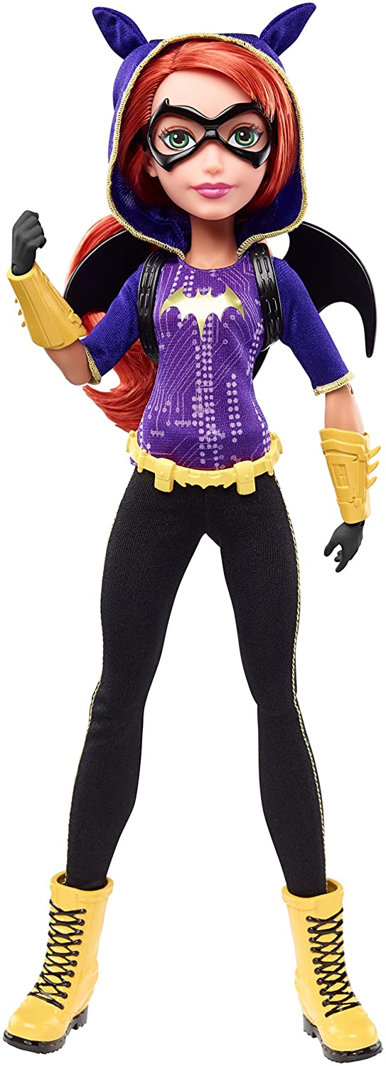 DC Comics DLT64 Super Hero Girls Batgirl 12 inch Action Doll Mattel