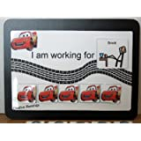 CARS TOKEN BOARD ABA BEHAVIOR REINFORCER FOR AUTISM, ADHD, & ADD