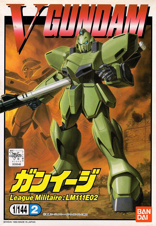 Bandai Hobby #2 Gun-EZ Victory Gundam Bandai 1/144 Action Figure