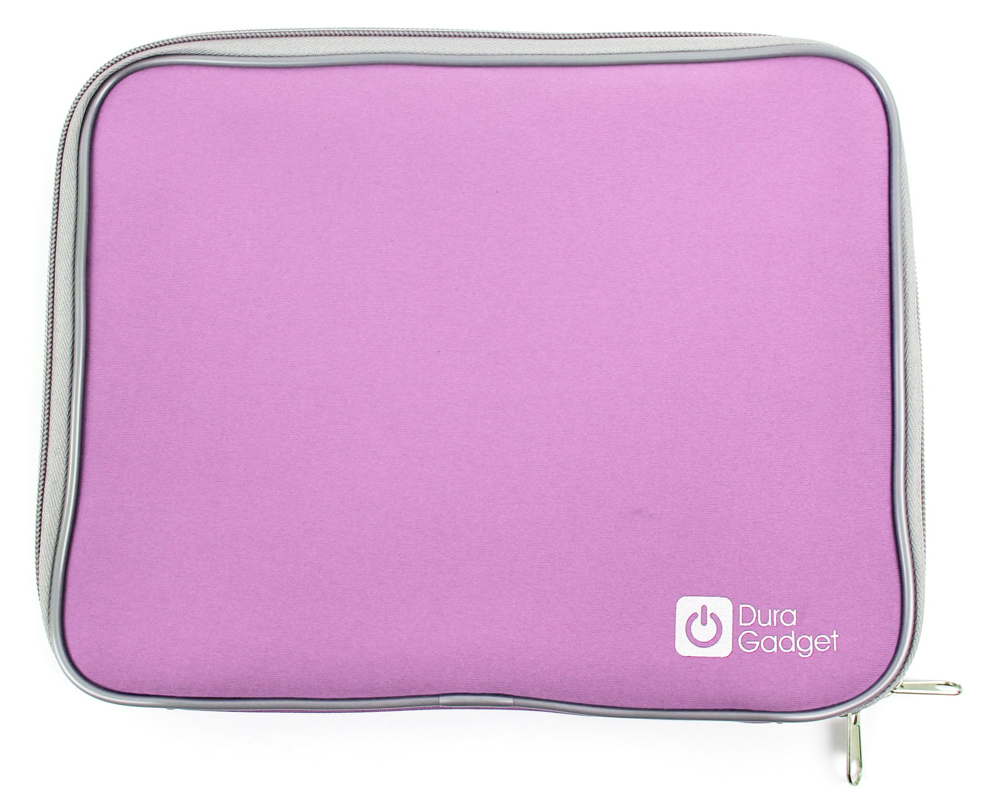 DURAGADGET Secure Pink Travel Water Resilient Neoprene Cover With Dual Zips For Microsoft Surface for Windows RT + Screen Protector