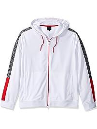 A|X Armani Exchange Mens Polyester Zip-up Sweatshirt Hooded Sweatshirt