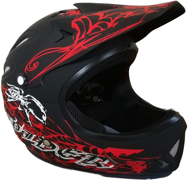 ProtectWEAR FH40-SW-XS Downhillhelm Freeridehelm BMX Helm, Größe   XS, XS,  Schwarz Matt fda57c