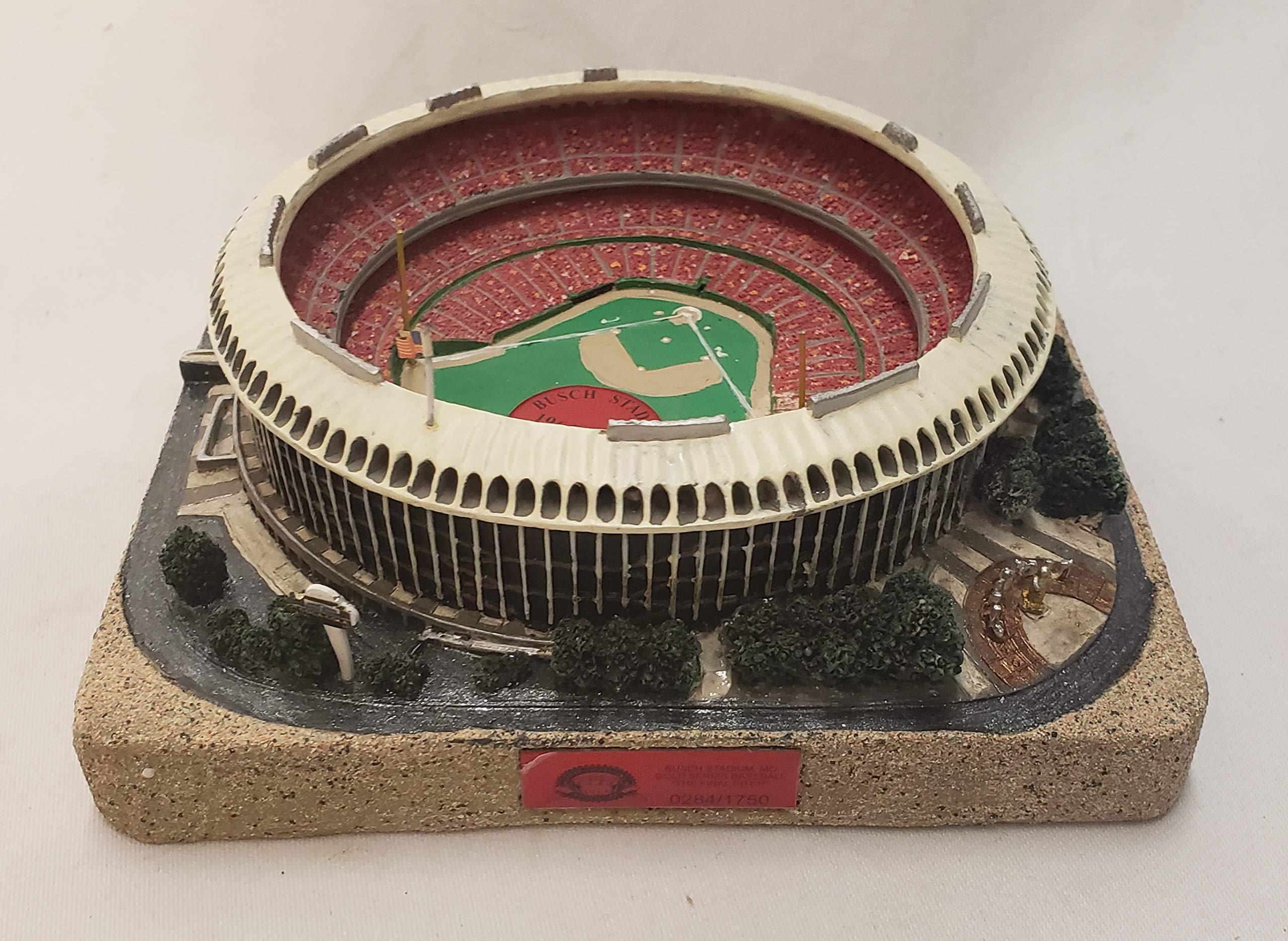 St. Louis Cardinals Busch Stadium FINAL PITCH Gold Series Stadium Replica