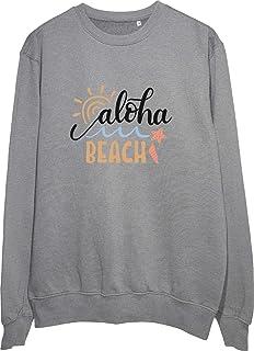 This is How Quality Clothing Looks Like: Aloha Beach Grey/White/Black Sweatshirt
