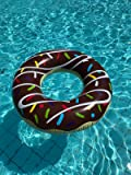 Integrity Co gigante gonfiabile Donut anello gonfiabile aria materassi. Gonfiabile Donut ciambella Materasso ad Aria Pool Floss