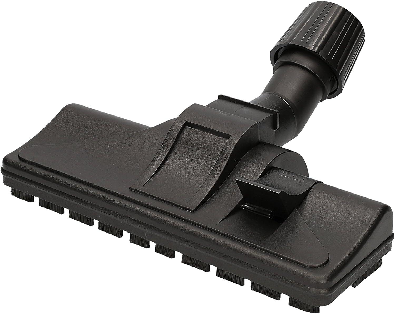✧WESSPER/® Boquilla para suelos para aspiradora Siemens VS06A111 /ø32mm-38mm, con ruedas
