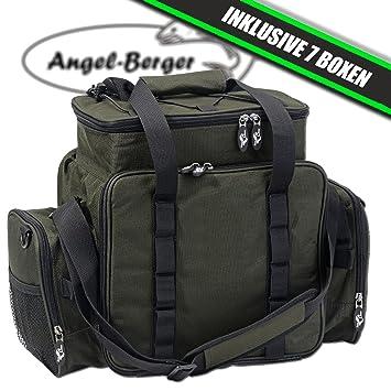 831478263610d Luxus Angeltasche groß Zubehörtasche Kunstködertasche mit Boxen ...