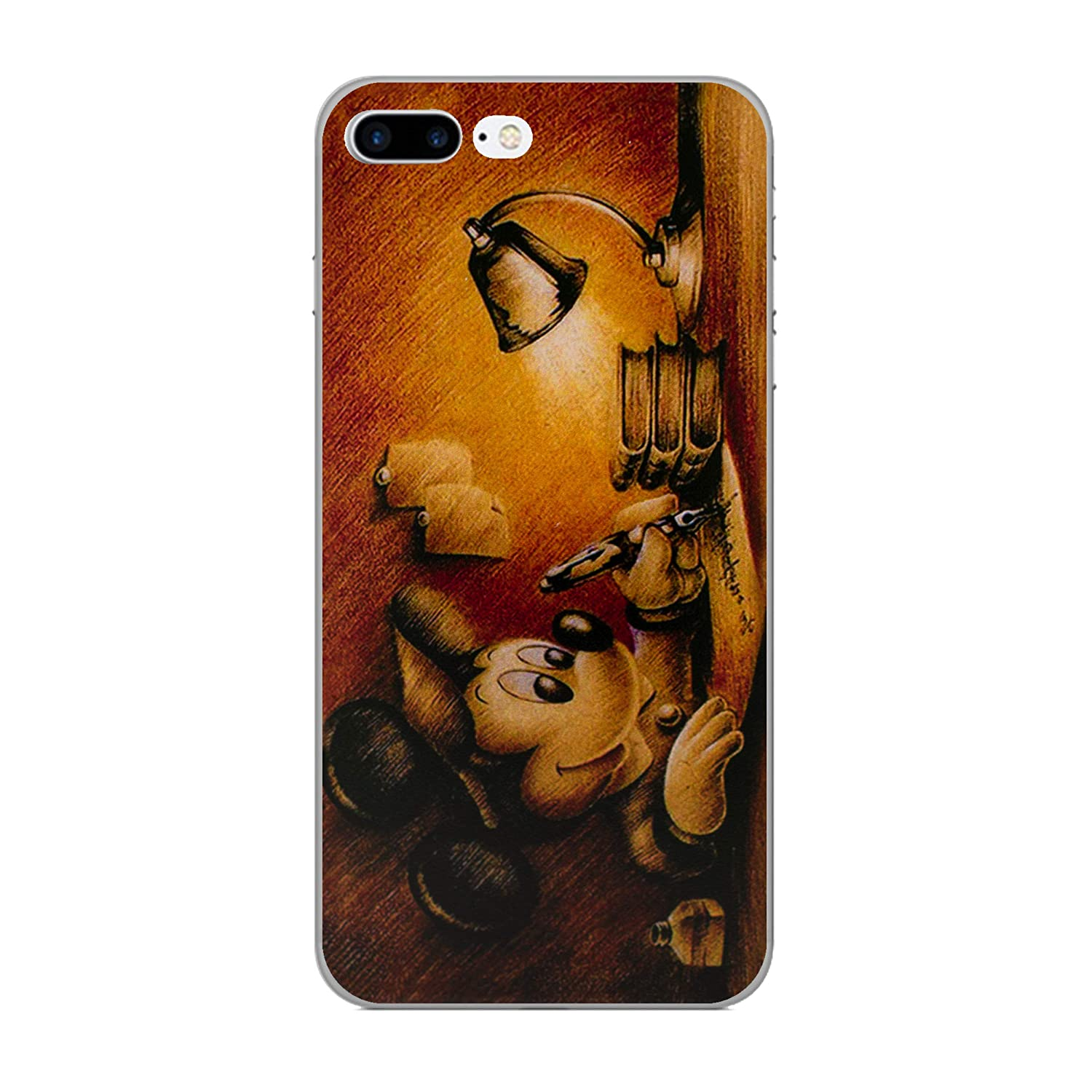 iPhone 8 Plus Cita de Disney Estuche de Silicona / Cubierta de Gel para Apple iPhone 8 Plus (5.5