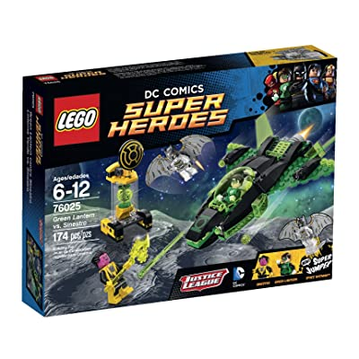 LEGO Superheroes Green Lantern vs. Sinestro: Toys & Games