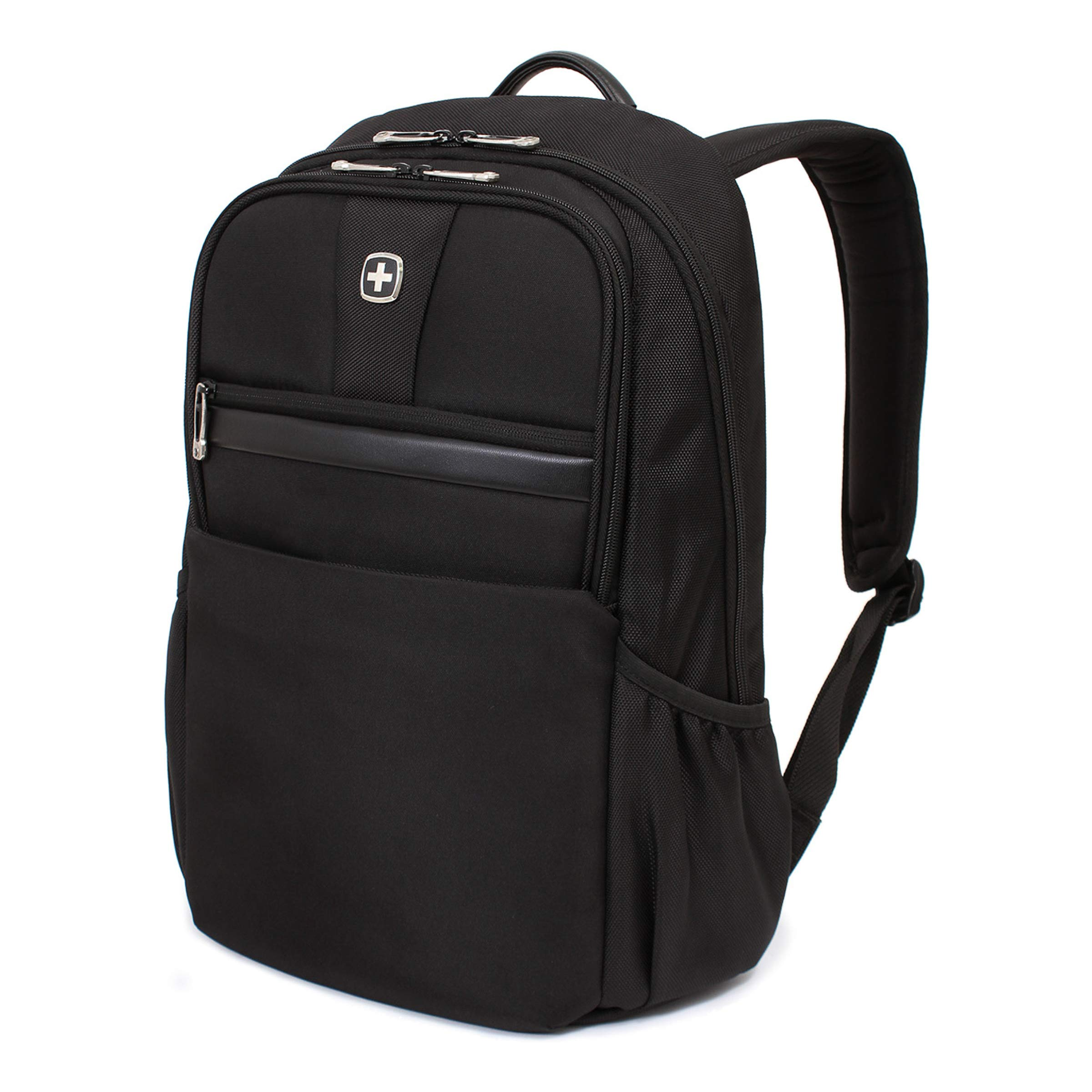 SWISSGEAR Durable 15-inch Laptop Backpack   Padded Computer Sleeve   Travel, Work, School   Men's and Women's - Black by Swiss Gear