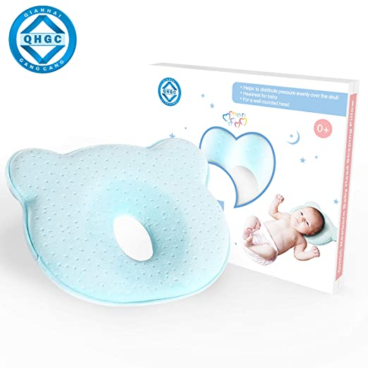 Top 8 Best Flat Head Pillows For Babies in 2019 1