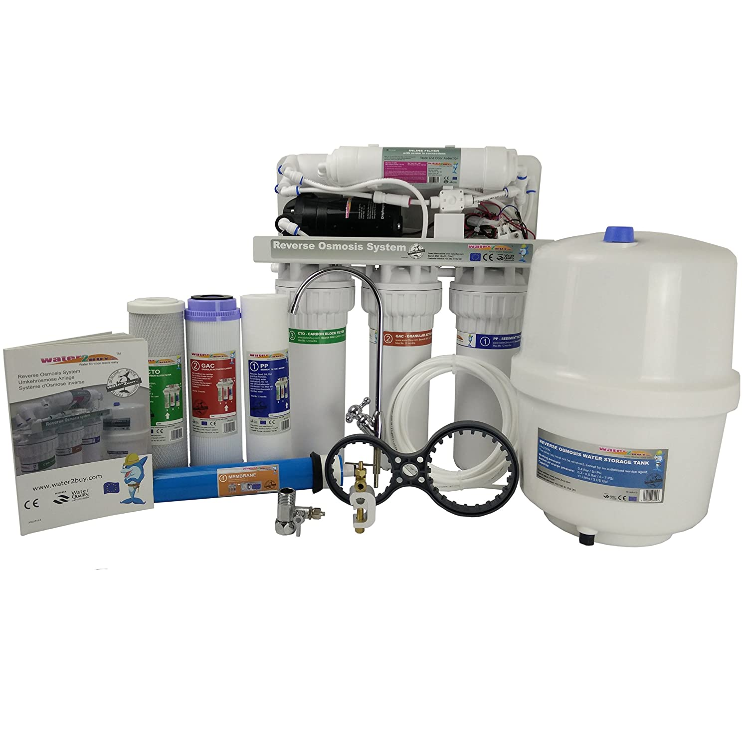 Water Filter Reverse Osmosis unit RO600 5 Stage water treatment