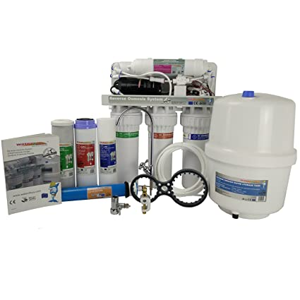 abcc4129f0f Water Filter Reverse Osmosis unit RO600 5 Stage water treatment system with  pump  Amazon.co.uk  DIY   Tools