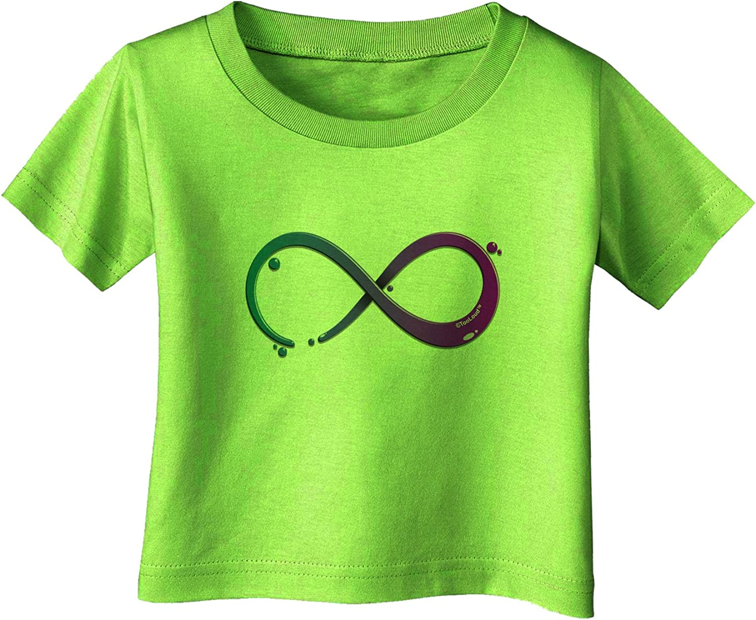 TooLoud Painted Infinity Infant T-Shirt