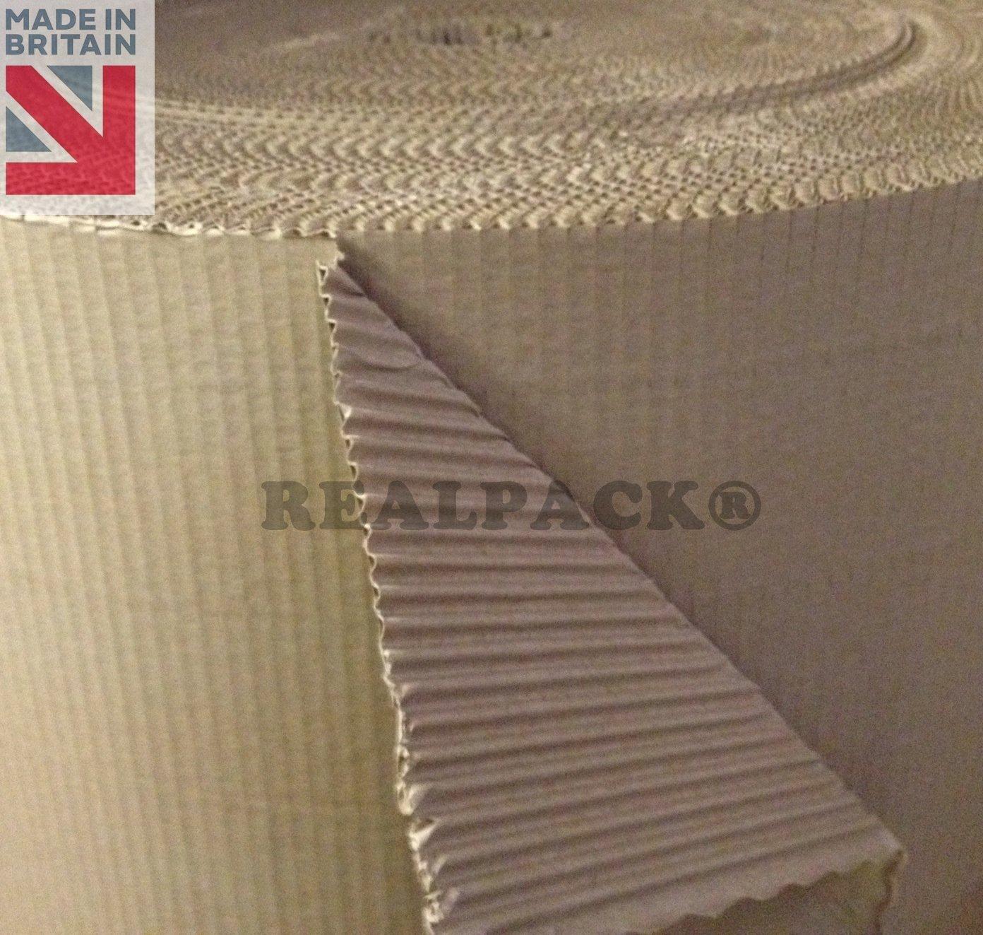 realpack/® Wellpappe Papier Rollen Rollen Papier Craft 30,5/cm 300/mm 25/m Beste Qualit/ät