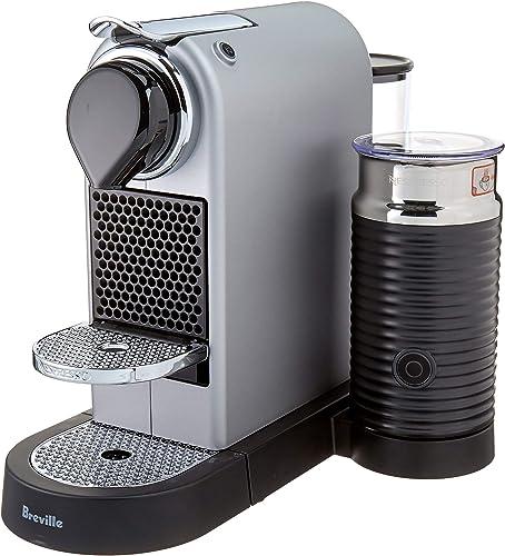 Breville-Nespresso USA BEC660SIL1BUC1 Nespresso Citiz Milk