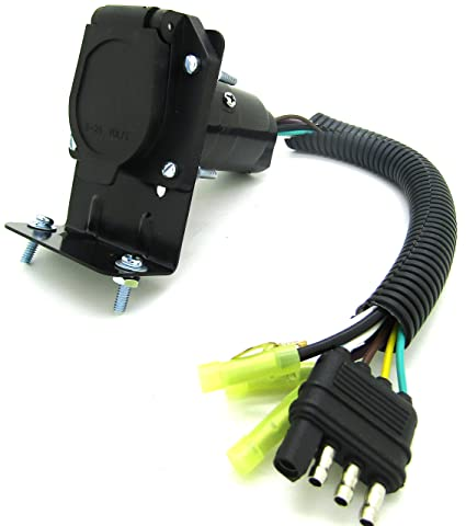 Remarkable Amazon Com Cal Hawk Tools Cztlp7 Trailer Adapter With Wire Home Wiring Digital Resources Bemuashebarightsorg
