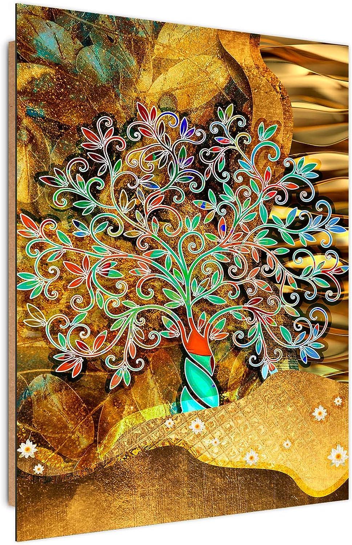 F FEEBY WALL DECOR Decoration Tree of Life Poster Image Photo Print Abstract 60x90 cm: Amazon.es: Hogar