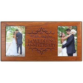 Dayspring Meilensteine 1 Hochzeitstag Bilderrahmen Geschenk