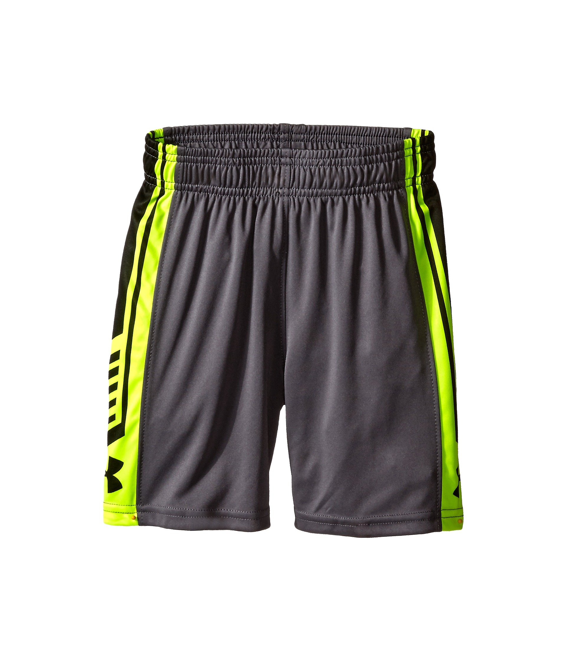 Under Armour Kids Boys Fade Out Shorts (Little Big Kids), Graphite, 5 X One Size