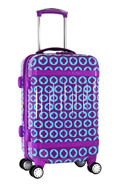 0a0e9ce63a3a J World New York Taqoo Polycarbonate Carry-on Spinnger Luggage, J ...