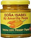 Doña Isabel Aji Amarillo Molido (Yellow Hot Pepper Paste) 7.5oz Single Bottle - Product of Peru