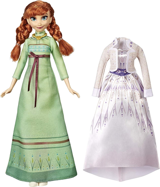 Amazon.es: Hasbro Disney Frozen 2 Fashion + Extra vestido Anna ...