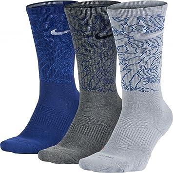 Nike 3PPK DRI-FIT Triple Fly C Pack 3 Pares de Calcetines, Hombre, Rojo, S: Amazon.es: Deportes y aire libre
