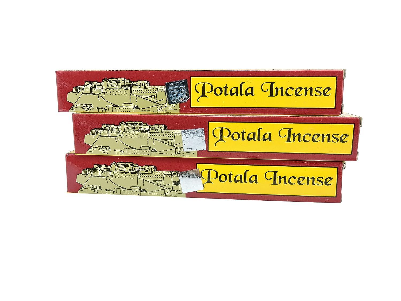 チベットの手3ボックスPotala 60チベット従来のIncense Sticks B01A55QUL2