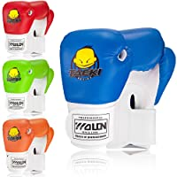 Kids Boxing Gloves 4oz Children Cartoon Sparring Boxing Gloves Training Mitts Junior Punch PU Leather Age 5-12 Years