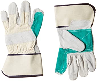 Acme Safewell LG-802 Split Canadian Glove with Reinforcement, Blue, Pack of 2 Pair
