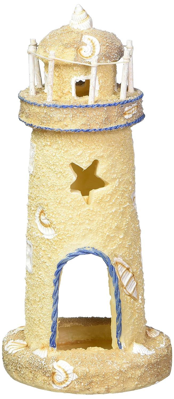 Pen-Plax RR1052 Lighthouse Aquarium Ornament, 8.75