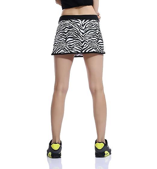 Honoursport Falda de Tenis Skort Golf Mujer Negra Pantalón Ropa Padel Running Corta Moda Deportivas Short: Amazon.es: Ropa y accesorios