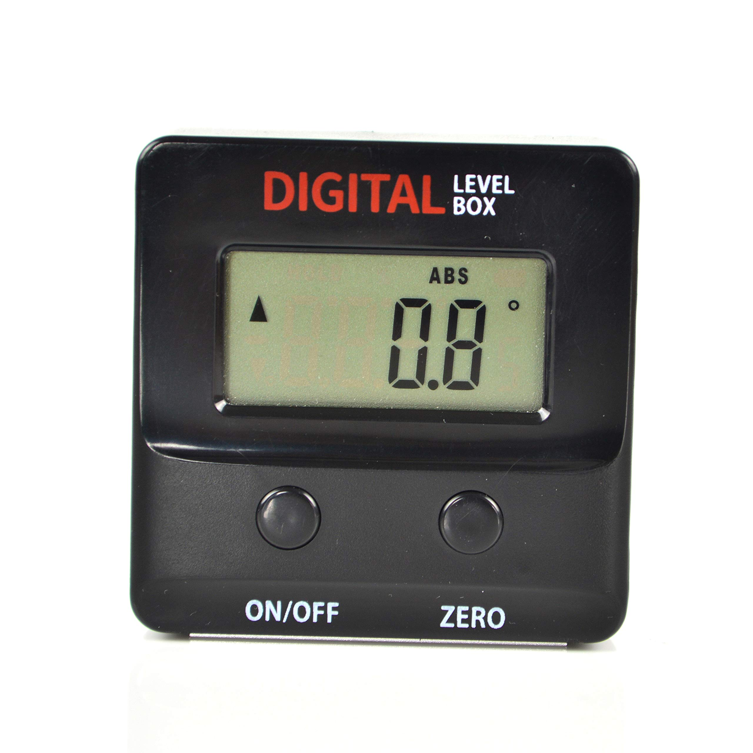 GemRed Digital Level Box Protractor Angle Finder Level Gauge Bevel Gage Inclinometer (82421 Mini Angle