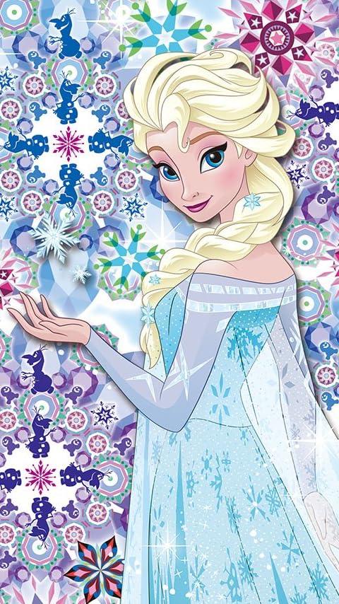 ディズニー アナと雪の女王 エルサ XFVGA(480×854)壁紙画像