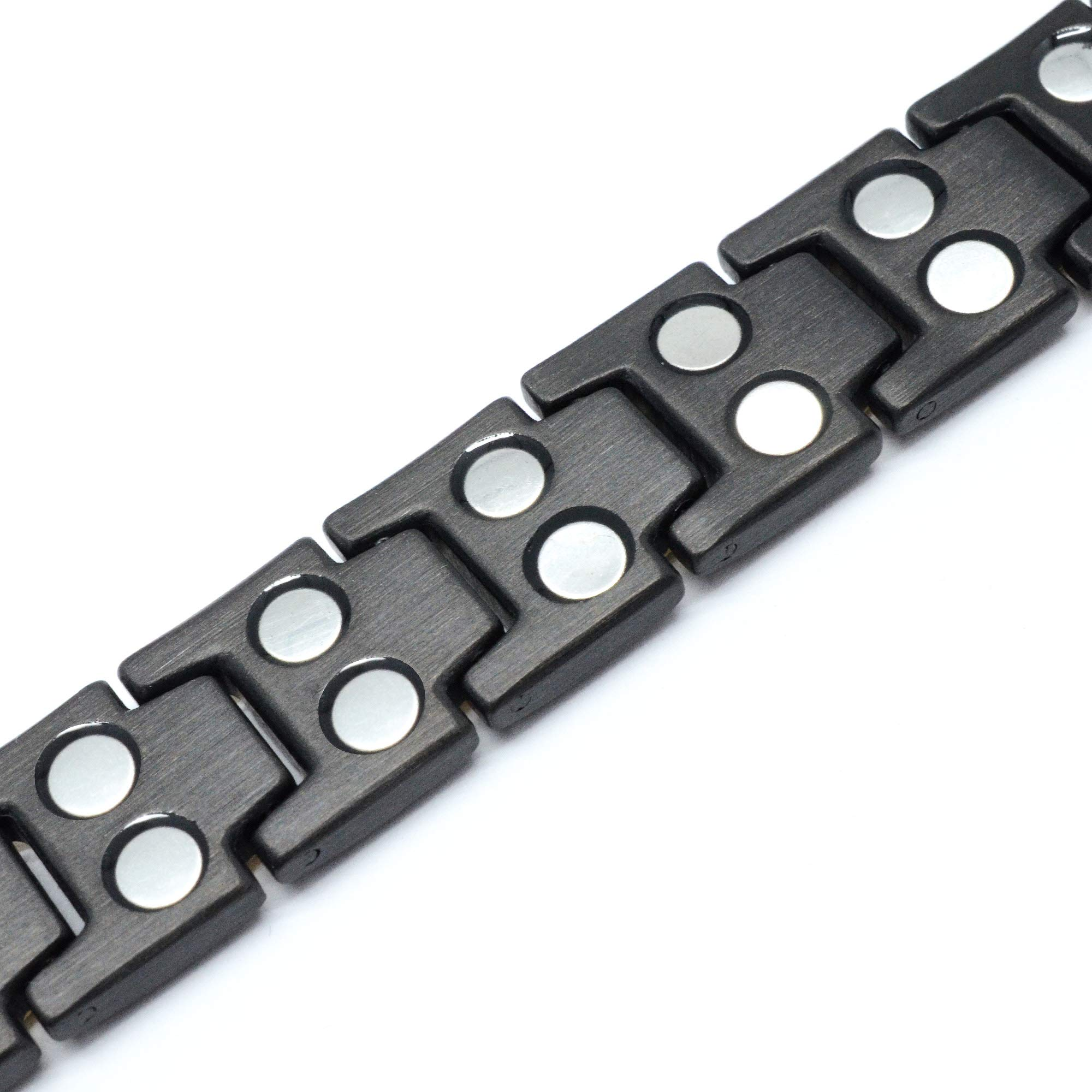 MagnetRX Ultra Strength Magnetic Therapy Bracelet Double Magnet Pain Relief for Arthritis and Carpal Tunnel by MagnetRX (Image #6)