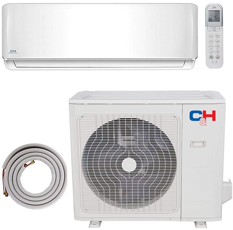 COOPER AND HUNTER 18000 BTU Ductless Mini Split Heat Pump Air Conditioner Cooper & Hunter