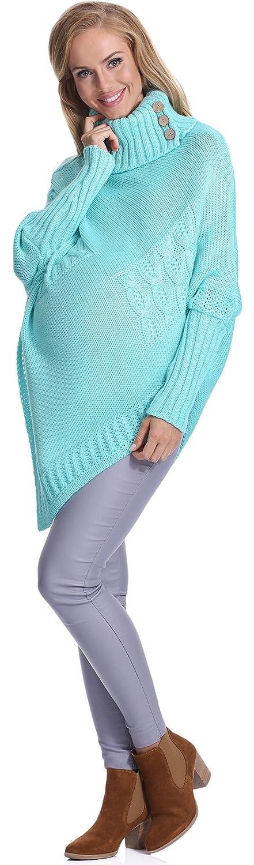 Be Mammy Damen Umstandspullover 942N1