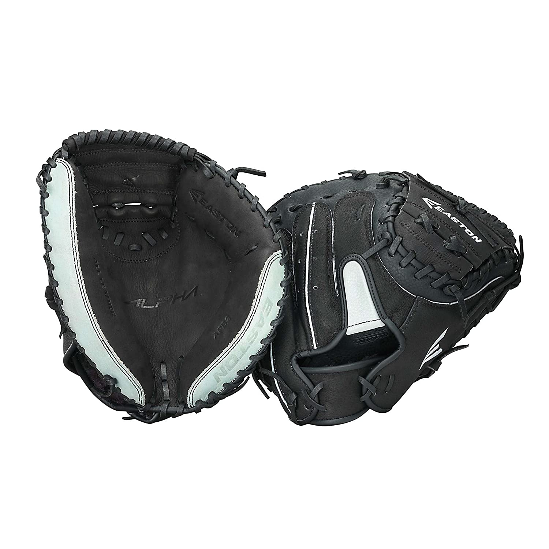 Amazon.com : Easton APB2 Alpha Series Catcher's Mitt, 34-Inch, Right Hand  Throw : Adult Catchers Mitt Softball : Sports & Outdoors
