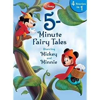 Disney 5-Minute Fairy Tales Starring Mickey & Minnie: Starring Mickey & Minnie (5-Minute Stories)