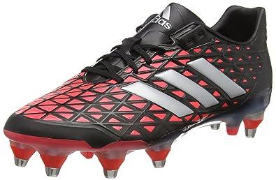 5f373cf4636e adidas Men s s Adipower Kakari Sg Rugby Boots Green  Amazon.co.uk ...