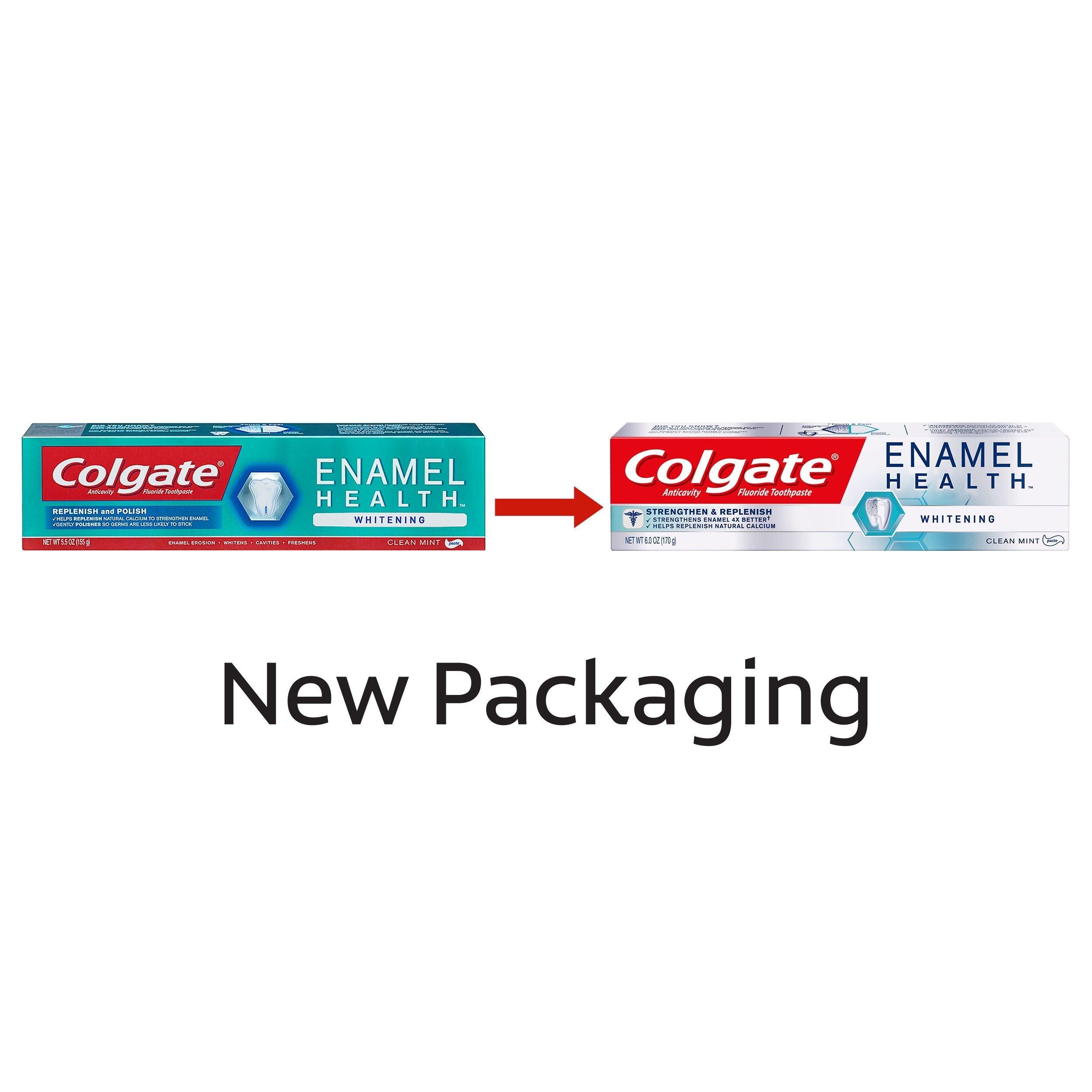 Colgate Enamel Health Whitening Toothpaste - 5.5 ounce (3 Pack) by Colgate (Image #4)