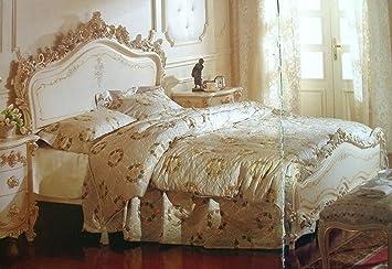 Barock Bett Doppel Bett 180x200 Schlafzimmer Antik Stil Vp7711Q ...