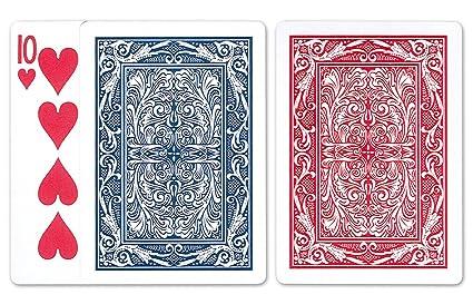 Amazon.com: Maverick Pinochle Juego de cartas: 12 barajas de ...