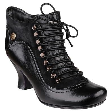 7d0059fa8e2 Amazon.com | Hush Puppies Womens/Ladies Vivianna Lace up Boots | Boots