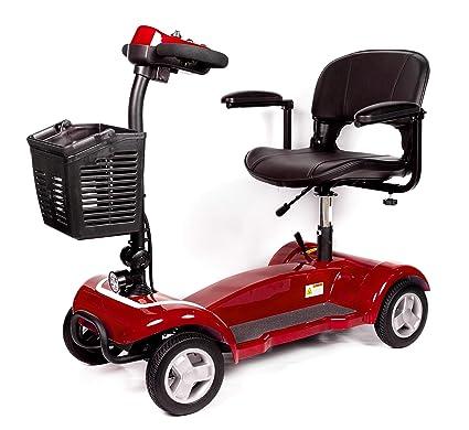 Scooter electrico minusvalido/Silla electrica movilidad reducida/Moto electrica personas mayores 4 ruedas