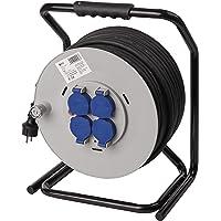Emos - Carrete alargador de Cable Profesional