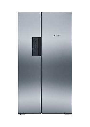Bosch 661 L Frost Free Side-by-Side Refrigerator(KAN92VI35I, Stainless Steel, Inverter Compressor)